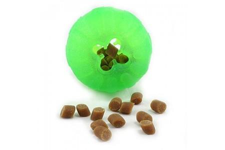 Мяч-контейнер Starmark Chew Ball L 10 см