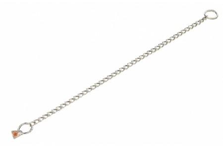 Цепь с круглыми звеньями, толщина провода 2,5 мм (нержавеющая сталь)