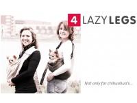 Слинг-переноска 4LazyLegs (темно-синий холст)