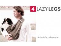 Слинг-переноска 4LazyLegs (серый холст)